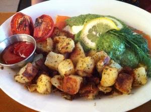 Salmon Breakfast Custom Ordered Gluten Free