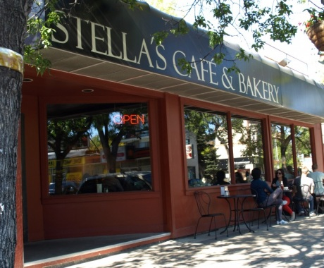 Stella's Cafe & Bakery - Sherbrook  Photo from www.stellas.ca